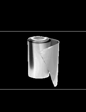 Alumínio rolo 125m- 13cm Prata