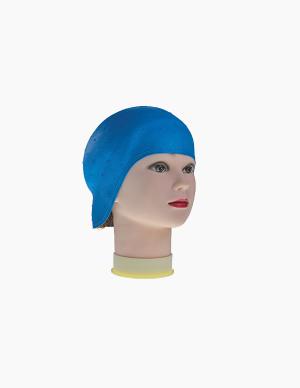 Touca Madeixas Borracha Azul